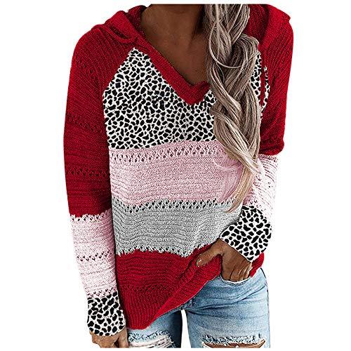 Berimaterry pullover Mujer Sudadera Tops Chaqueta Suéter Jersey Mujer Otoño Invierno Talla Grande Hoodie...