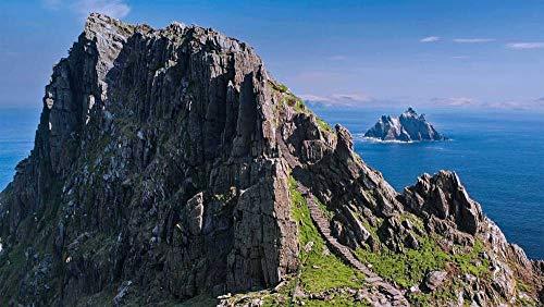 CZYSKY Isole Skellig, Irlanda, Puzzle 500 Pezzi Puzzle Giocattolo in Legno (52 * 38 Cm)