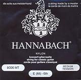 Hannabach 8006 schwarz - E6 Konzergitarre, medium