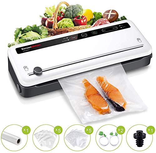 Food Saver Vacuum Sealer Machine For Food, Vaccume Sealer Machine Built in Air Sealing System with...