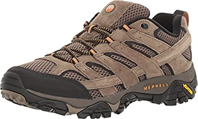 Merrell Men's Moab 2 Vent Hiking Shoe, Walnut, 11.5 2E US