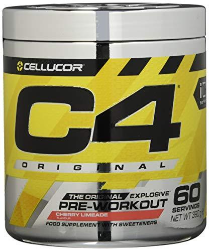 C4 Original Pre-Workout Supplement, Cherry Limeade