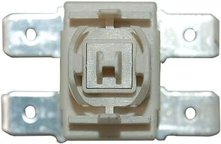 Véritable indesit hotpoint bouton poussoir gris spares
