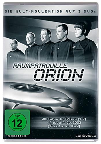 Raumpatrouille Orion - Kult-Kollektion [3 DVDs]