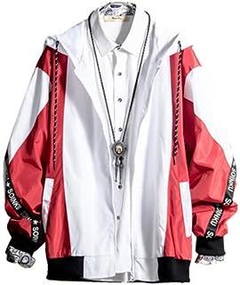 Fanessy ジャケット ファッション メンズ 長袖 ジャンパー スタジャン ライダース バイク 大学生 高校生 カジュアル 個性な 大きいサイズ ブラック かっこいい おしゃれ  アウター