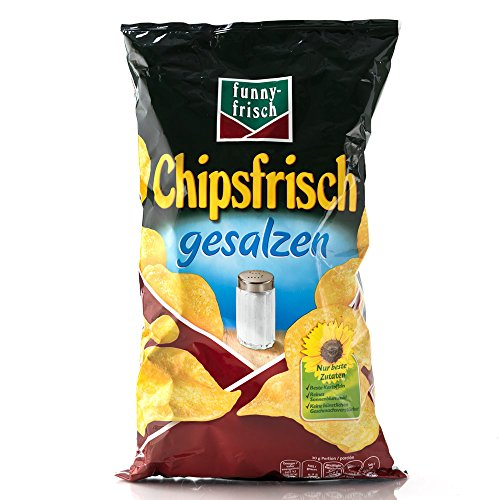 funny-frisch Chipsfrisch Gesalzen, 1er Pack (1 x 175 g)