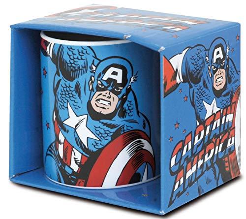 Preis am Stiel Tasse ''Captain America'' | Kaffeebecher | Kaffeetasse | Kakaotasse | Bürotasse | Deko | Teetasse | Geschenk | Pott | Kakaobecher | Büro | Küche | Mug | Superhelden | Superman-Fan