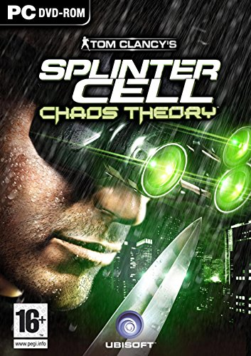 JOC PC DVD TOM CLANCY'S SPLINTER CELL CHAOS THEORY