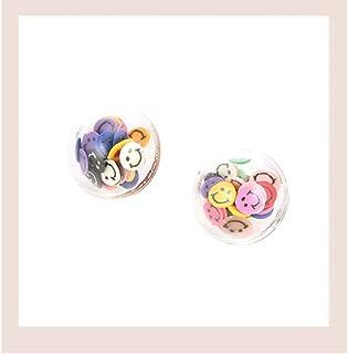 Cute Style Transparent Love Hanging Earrings Pendant Handmade Earrings Hypoallergenic Simple Earrings For Women Girl(Smiley face)