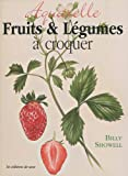 Aquarelle fruits et légumes à croquer