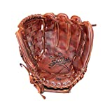 Shoeless Joe Gloves Fast Pitch Basket Weave Web Brown Glove, 12 1/2-Inch, Right...