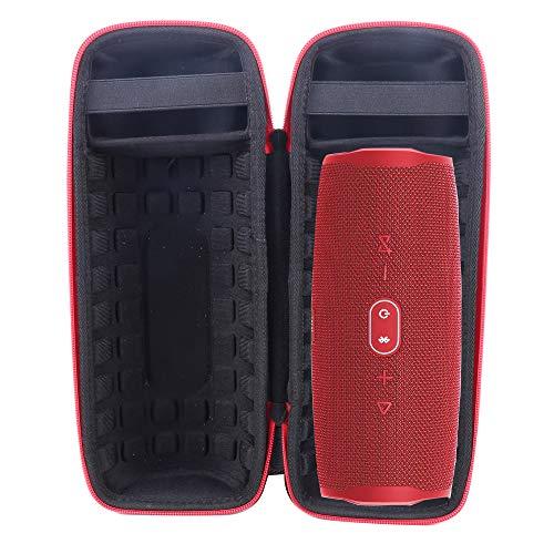 Valigia Borsa Custodia per JBL Charge 4 Altoparlante Bluetooth di Aenllosi (rosso)