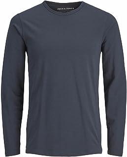 JACK & JONES Męska koszulka Basic O-Neck Tee L/S Noos z długim rękawem