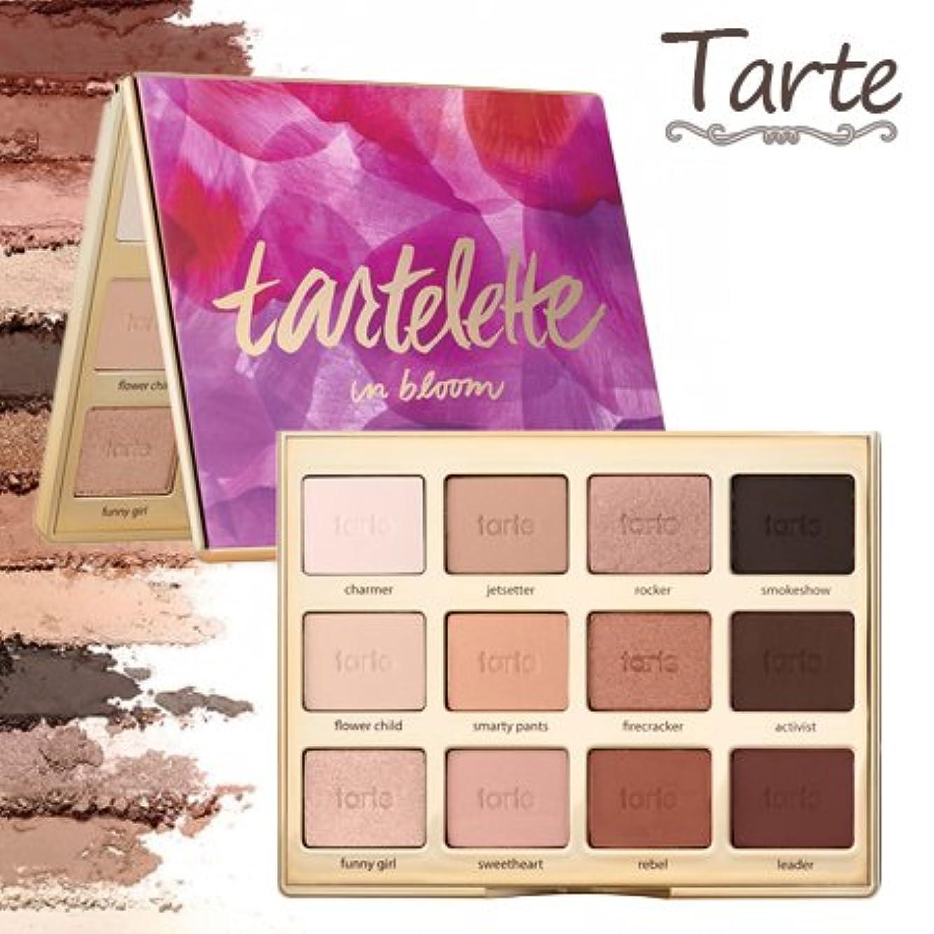 履歴書レイア剥離タルトTarte Tartelette in bloom clay eyeshadow palette アイシャドウ パレット 12色 【並行輸入品】