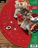 Bucilla, Holiday Elegance, Felt Applique Christmas Tree Skirt, 43'