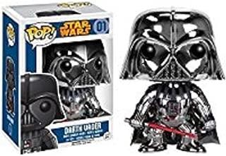 Funko POP! Star Wars: Metallic Chrome Darth Vader #01