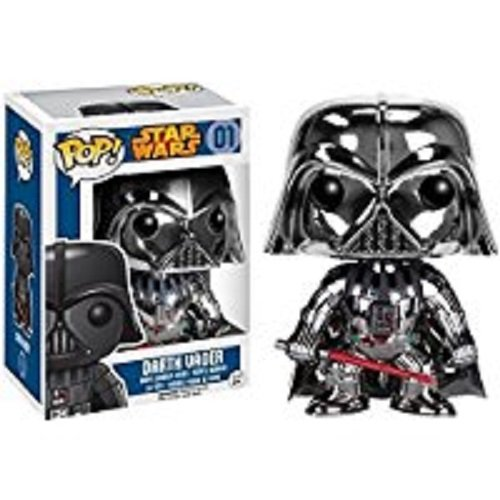 Star Wars - Pop Vinyl, Darth Vader Chrome Limited Edition (Funko FUN6827)