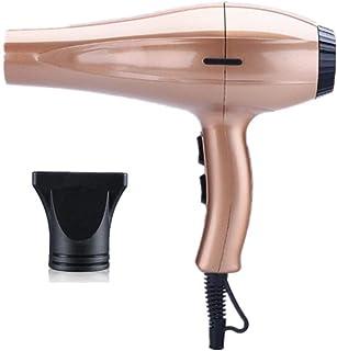 Pro Secador de pelo con el concentrador, 3 de calor y 2 velocidades, 2 metros de cable de alimentación, 3200 W, de oro rosa kshu