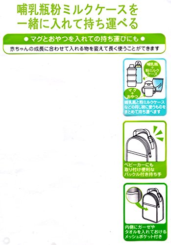 SKATER(スケーター)『哺乳瓶・粉ミルクケースポーチ(BHMC1)』