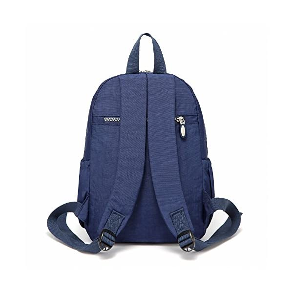 512zIvm4JYL. SS600  - AOTIAN Mujer Peso Ligero Mochilas de Casual Juveniles Bolsas Escolares Bolsa de Uso Diario 9 litros Azul