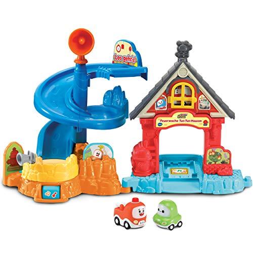 Vtech 80-524004 Feuerwache TUT-Hausen Babyspielzeug, Babyfahrzeug, Spielzeugauto, Cory Flitzer, Feuerwehr