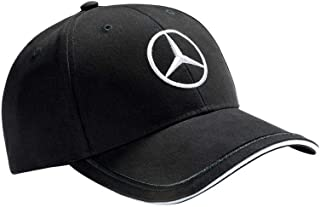 Mercedes Benz Sports Logo Cap BLACK