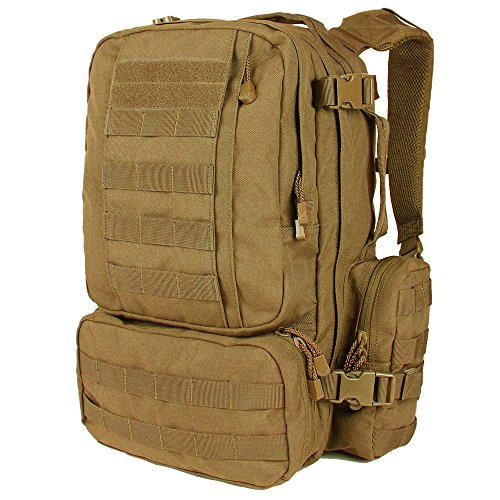 Condor Outdoor Convoy Backpack One Size Coyote Brown