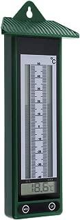 Digital max min termómetro diseño clásico en verde -40&
