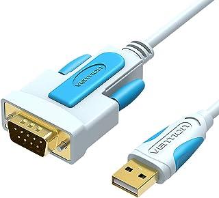 محول فينشن USB إلى RS232 مع شريحة PL2303، مطلي بالذهب USB 2.0 إلى DB9 كبل تسلسلي ويندوز 10، 8، 7، XP، فيستا، ماك أوس، لينك...