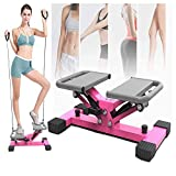 DFGENLY Aerobic Stair Stepper Machines for Women and Man, Mini Step Fitness Machines