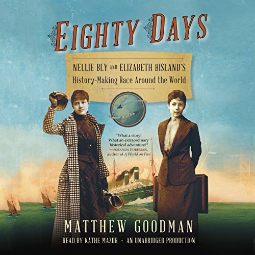 Eighty Days audiobook cover art