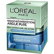 L'Oréal Paris – Masque anti-imperfections pour le visage – Argile pure – Anti-imperfections – 50 ml