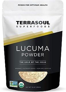 Terrasoul Superfoods Lucuma Powder (Organic), 12 Ounce