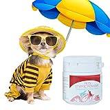 Seatechlogy Styptic Powder para Mascotas Perros y Gatos Antiinflamación Polvo de Analgesia antibacteriana Suministros médicos para Mascotas - Remedy+Recuperación (14g)