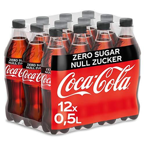 bester der welt Coca-Cola Zero Sugar, ein Erfrischungsgetränk mit Koffein in einer originellen, eleganten Flasche… 2021