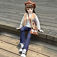 2020人形姫BJD 60CMシミュレーション人形大の女の子のおもちゃセット誕生日プレゼント,C