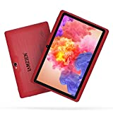 7 inch Tablet,LAMZIEN Android 8.1 Tablet PC,Quad-Core 1GB RAM 16GB ROM Dual-Camera Wi-Fi Bluetooth Google Play Store 3D Game Supported GMS Certified,Red