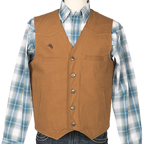 Wyoming Traders Men's Texas Concealed Carry Vest Tan X-Large