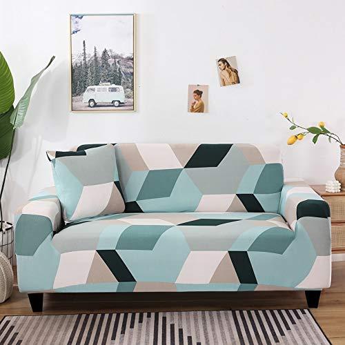 Fundas de sofá Protectoras de sofá con Pieles de sofá para Sala de Estar Funda elástica elástica Fundas de sofá seccionales de Esquina A12 1 Plaza