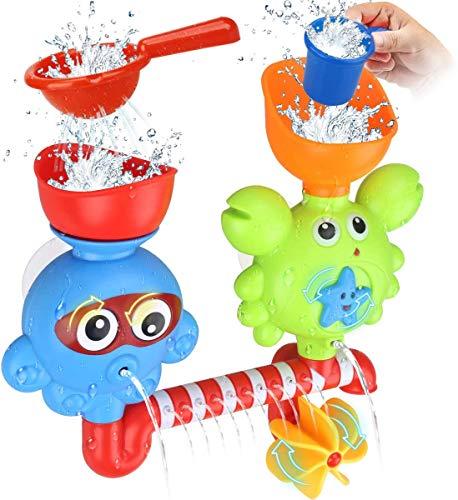 GOODLOGO Bath Toys Bathtub Toys for 1 2 3 4 Year...
