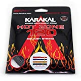 Karakal - Ensemble de cordage pour raquette de squash Hot Zone 120, bleu