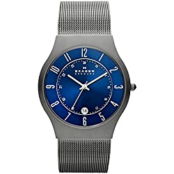 This image shows Skagen Sundby Titanium which is one of my best picks in my Skagen Watches Reviews
