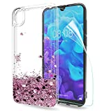 LeYi Case for Huawei Y5 2019 with Screen Protector, Girl 3D