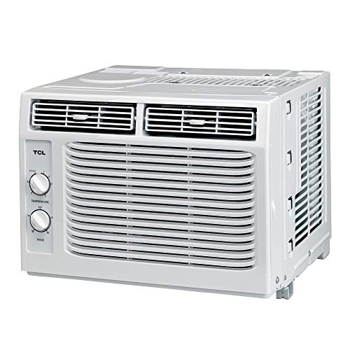 TCL 5WR1-A window-air-conditioner, 5,000 BTU, White