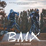BMX 2022 Calendar: Mini Calendar 2022 with Large Grid for Note - To do list, Gorgeous 8.5x8.5'' Small Calendar, Non-Glossy Paper