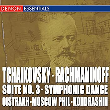 Tchaikovsky: Suite No. 3 - Rachmaninoff: Symphonic Dances