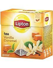 Lipton, Thee met vanille- en karamelaroma, 20 x 1,7 g