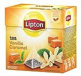 Lipton - Té con aroma de vanilla y caramelo, 20 x 1.7 gr