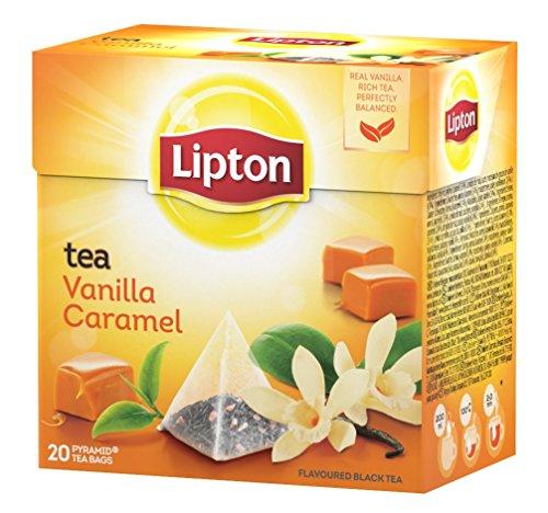 Infusión Lipton Tea Vainilla Caramel 20 Sobres