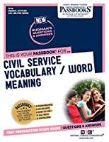 Civil Service Vocabulary / Word Meaning